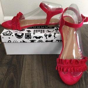 Ruffled Sandals
